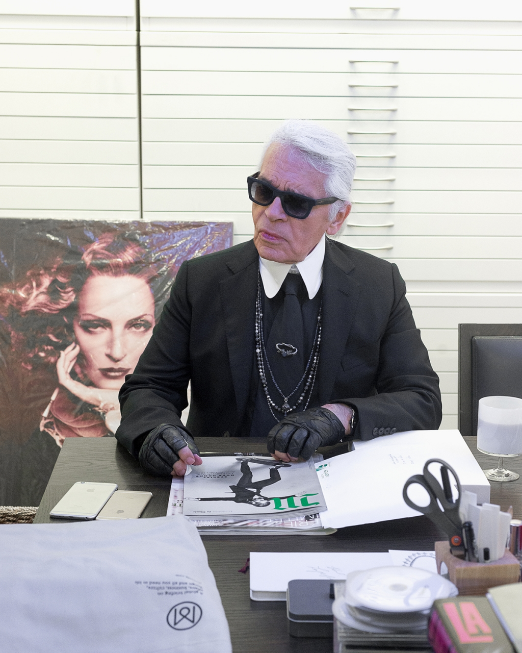 interview de karl lagerfeld