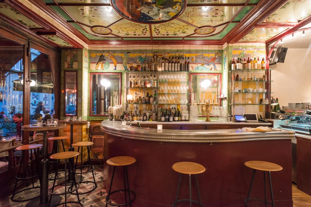 FRANÇOIS CAVELIER Le Clown Bar. Paris. MONOCLE