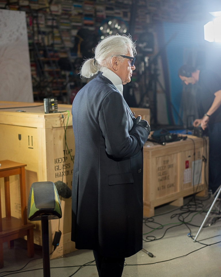 FRANÇOIS CAVELIER Karl Lagerfeld : The Big Interview. MONOCLE