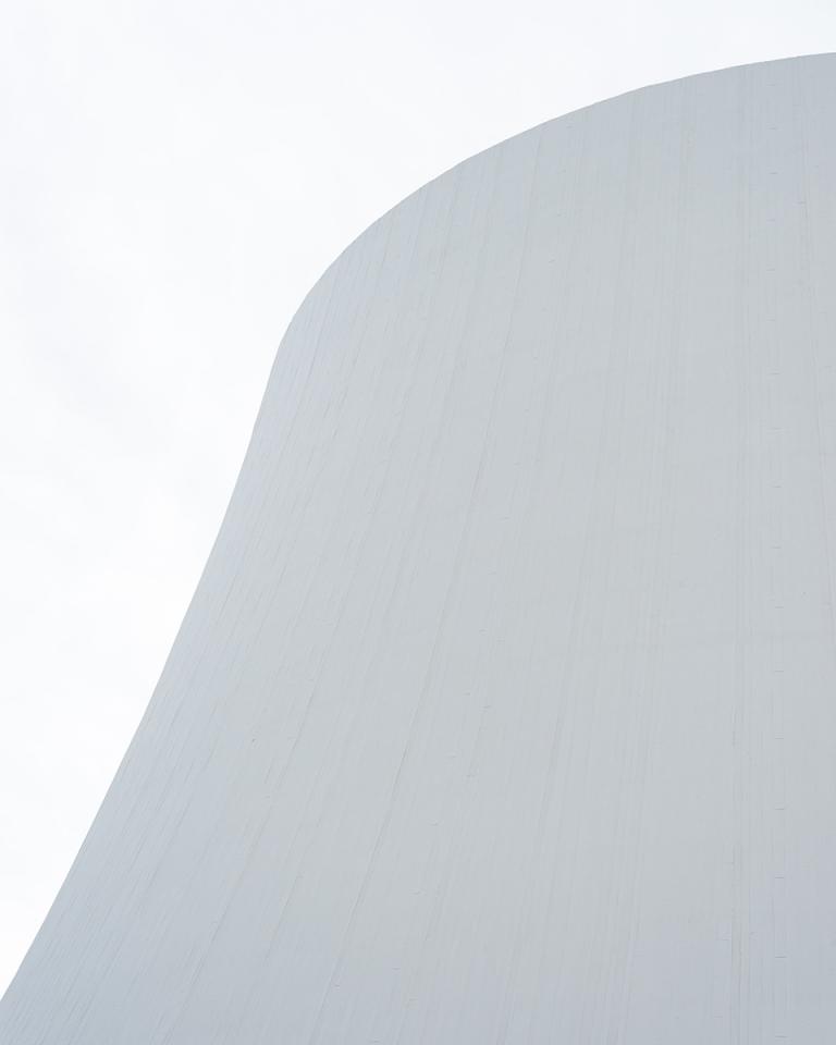 FRANÇOIS CAVELIER Le Volcan, Oscar Niemeyer. Le Havre. Libération