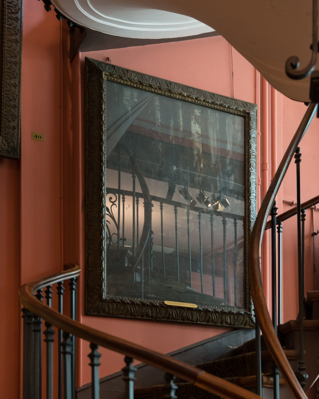 FRANÇOIS CAVELIER Museum Gustave Moreau <i>Staircase</i>. France. MONOCLE