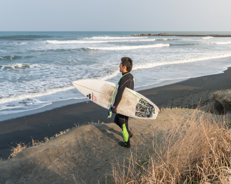 FRANÇOIS CAVELIER Looking for The Great Wave. Japan.<i><b> Work in Progress